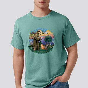 St Francis (ff) - Abyssi Mens Comfort Colors Shirt