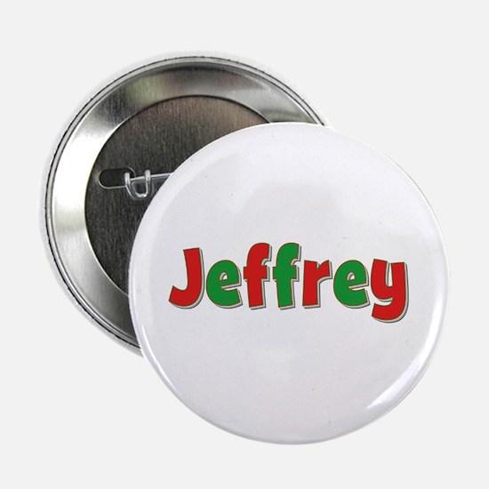 Jeffrey Christmas Button