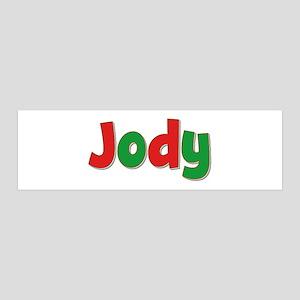 Jody Christmas 36x11 Wall Peel