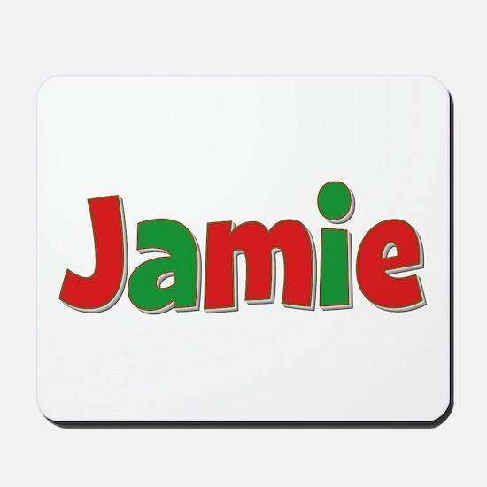 Jamie Christmas Mousepad