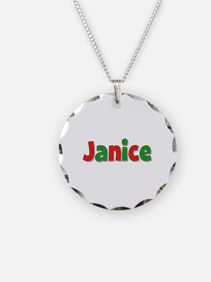Janice Christmas Necklace