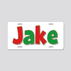Jake Christmas Aluminum License Plate