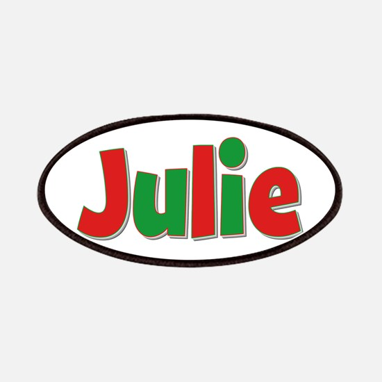 Julie Christmas Patch
