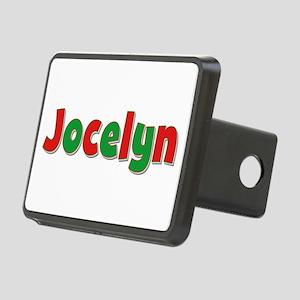 Jocelyn Christmas Rectangular Hitch Cover
