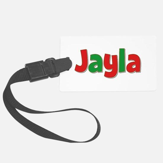Jayla Christmas Luggage Tag