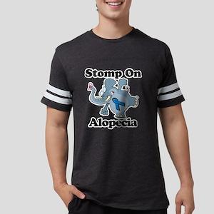 Elephant Stomp On Alopecia Mens Football Shirt