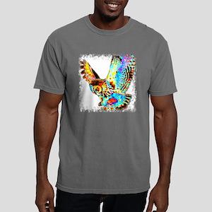 Owl665bNRc Mens Comfort Colors Shirt