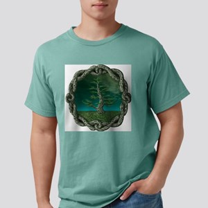 celtic tree Mens Comfort Colors Shirt