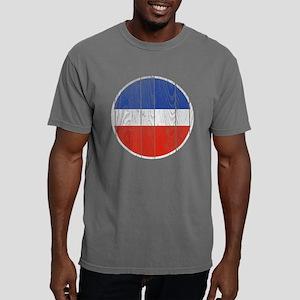 Yugoslavia Roundel Wood. Mens Comfort Colors Shirt