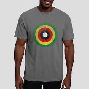 zimbabwe Roundel Wood.pn Mens Comfort Colors Shirt
