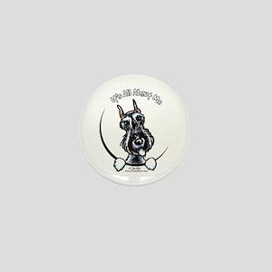 SP Schnauzer IAAM Mini Button