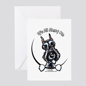 SP Schnauzer IAAM Greeting Card