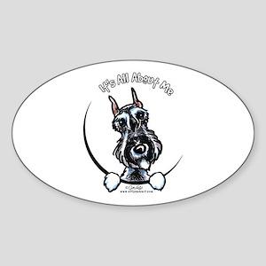 SP Schnauzer IAAM Sticker (Oval)