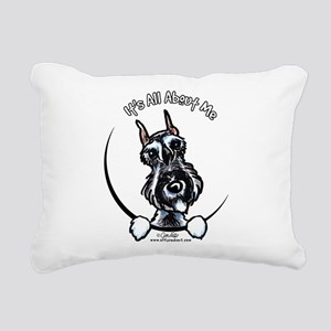 SP Schnauzer IAAM Rectangular Canvas Pillow