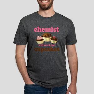 chemist cupcakes 2010 Mens Tri-blend T-Shirt