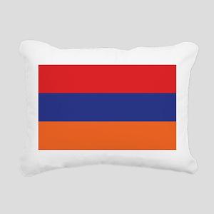 flag_armenia Rectangular Canvas Pillow