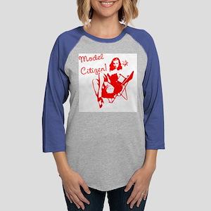 modelCitizen Womens Baseball Tee