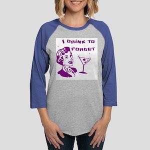 dringForget10x10 Womens Baseball Tee