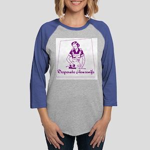 DesperateHWife Womens Baseball Tee