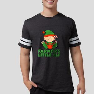 Farmor's Little Elf Mens Football Shirt