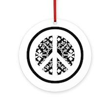 Peace / Oriental Ornament (Round)