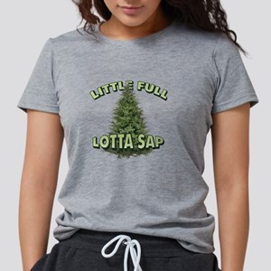 Little Full Lotta Sap Womens Tri-blend T-Shirt