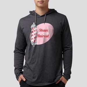 Shave and a Haircut Mens Hooded Shirt