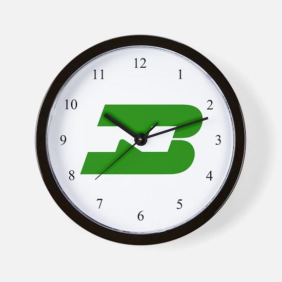 Burlington Northern Wall Clock
