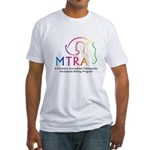 MTRA Rainbow Logo Fitted T-Shirt