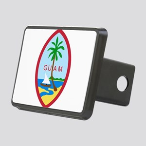 Seal of Guam Rectangular Hitch Cover