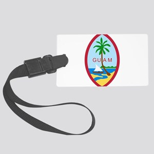 Seal of Guam Large Luggage Tag