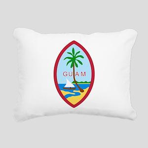 Seal of Guam Rectangular Canvas Pillow