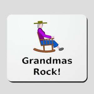Grandmas Rock Mousepad