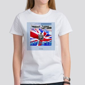 Churchill Give us the tools Women's T-Shirt