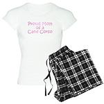 Proud Mom of a Cane Corso Women's Light Pajamas