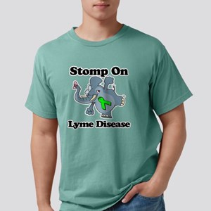 Elephant Stomp On Lyme D Mens Comfort Colors Shirt