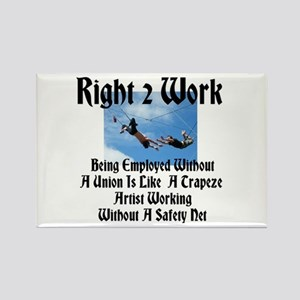Right 2 Work Like Trapeze Artist W/O Safety Net Re