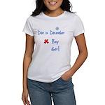 Due In December Boy Women's T-Shirt