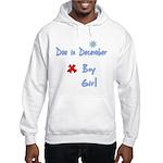 Due In December Boy Hooded Sweatshirt