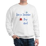 Due In December Boy Sweatshirt