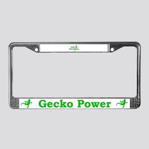Year of the Gecko License Plate Frame