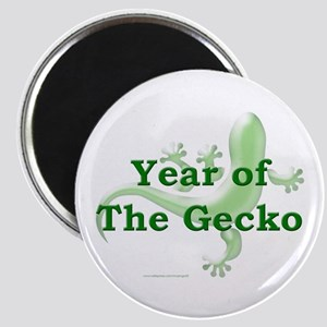 Year of the Gecko Magnet