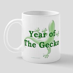Year of the Gecko Mug