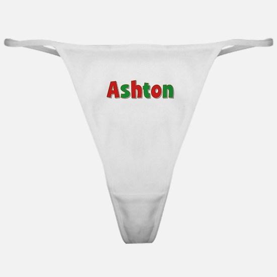 Ashton Christmas Classic Thong