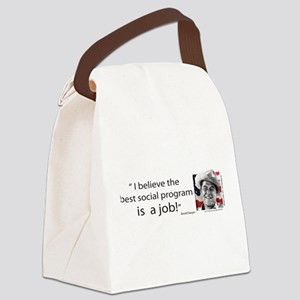 Ronald Reagan Canvas Lunch Bag