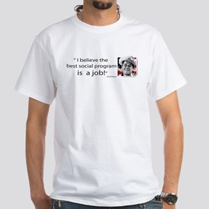 Ronald Reagan White T-Shirt