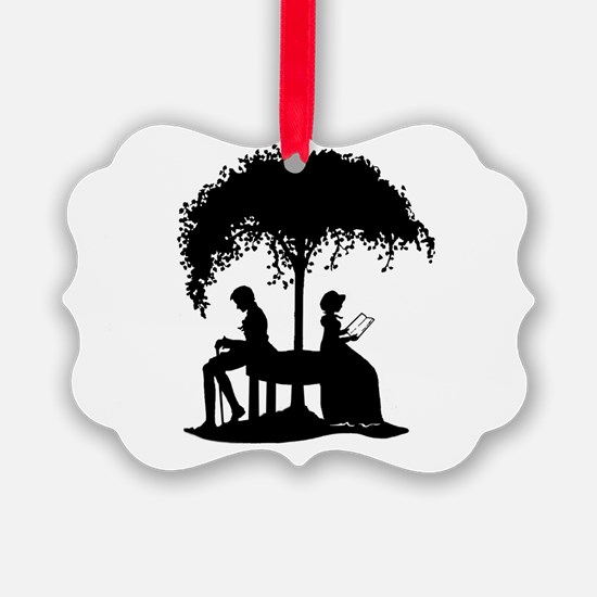 Jane Austen Lovers Ornament