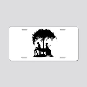 Jane Austen Lovers Aluminum License Plate