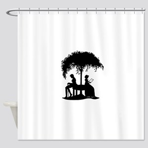 Jane Austen Lovers Shower Curtain
