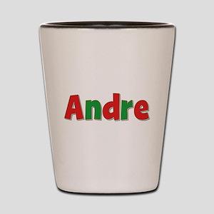 Andre Christmas Shot Glass